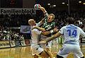 Florian Laudt against HSV defense DKB Handball Bundesliga HSG Wetzlar vs HSV Hamburg 2014-02 08 030.jpg