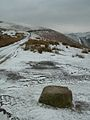 Flowing Mountain Trail above Talybont with a Dusting of Snow - panoramio.jpg