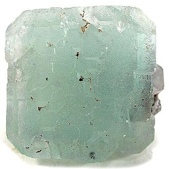 Buckskin Mountains (Arizona) - Fluorite-cube specimen from the Buckskin Mountains.