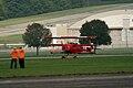 Fokker Dr.I Manfred Richthofen Landing 06 Dawn Patrol NMUSAF 26Sept09 (14619986603).jpg