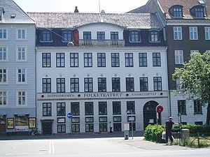 Folketeatret, Copenhagen - Main entrance