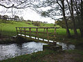 Footbridge, Lupton Beck (geograph 2125710).jpg