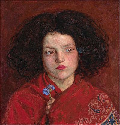 BROWN Ford Madox The Irish girl 1860