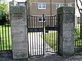 Former school gates on Garscadden Road - geograph.org.uk - 796920.jpg