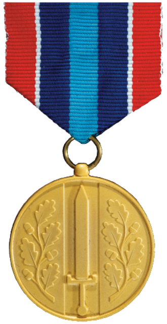 Medal for Defence Service Abroad - Medal for Defence Service Abroad, current version