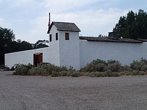 Fort Hall - Replica of the first Fort Hall in Pocatello, Idaho
