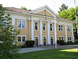 Fort Langley - Fort Langley Community Hall