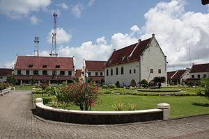 Makassar - Fort Rotterdam in 2010