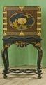 Fotställning av lövträ. 1730-1740 - Skoklosters slott - 92369.tif