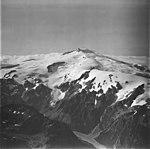 Fourpeaked Mountain, mountain glacier terminus, and bergschrund, September 4, 1977 (GLACIERS 6516).jpg