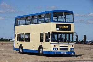 Fourways Coaches bus (G981 FVX), 2010 North Weald bus rally.jpg