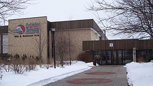 Fox Valley Technical College - Image: Fox Valley Tech Appleton Main Entrance