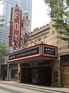 Fox Theatre (Atlanta) movie theater in Atlanta, Georgia, United States