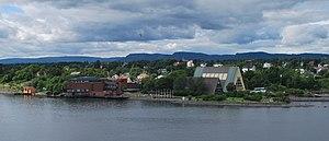 Fram Museum - Fram Museum (right) Norwegian Maritime Museum (left)