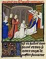 Français 458, fol. 39v, Jacques d'Armagnac en prière à la messe.jpg