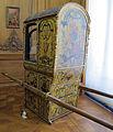 Francia, portantina in legno dorato, intagliato e dipinto, 1700-15 ca. 01.JPG