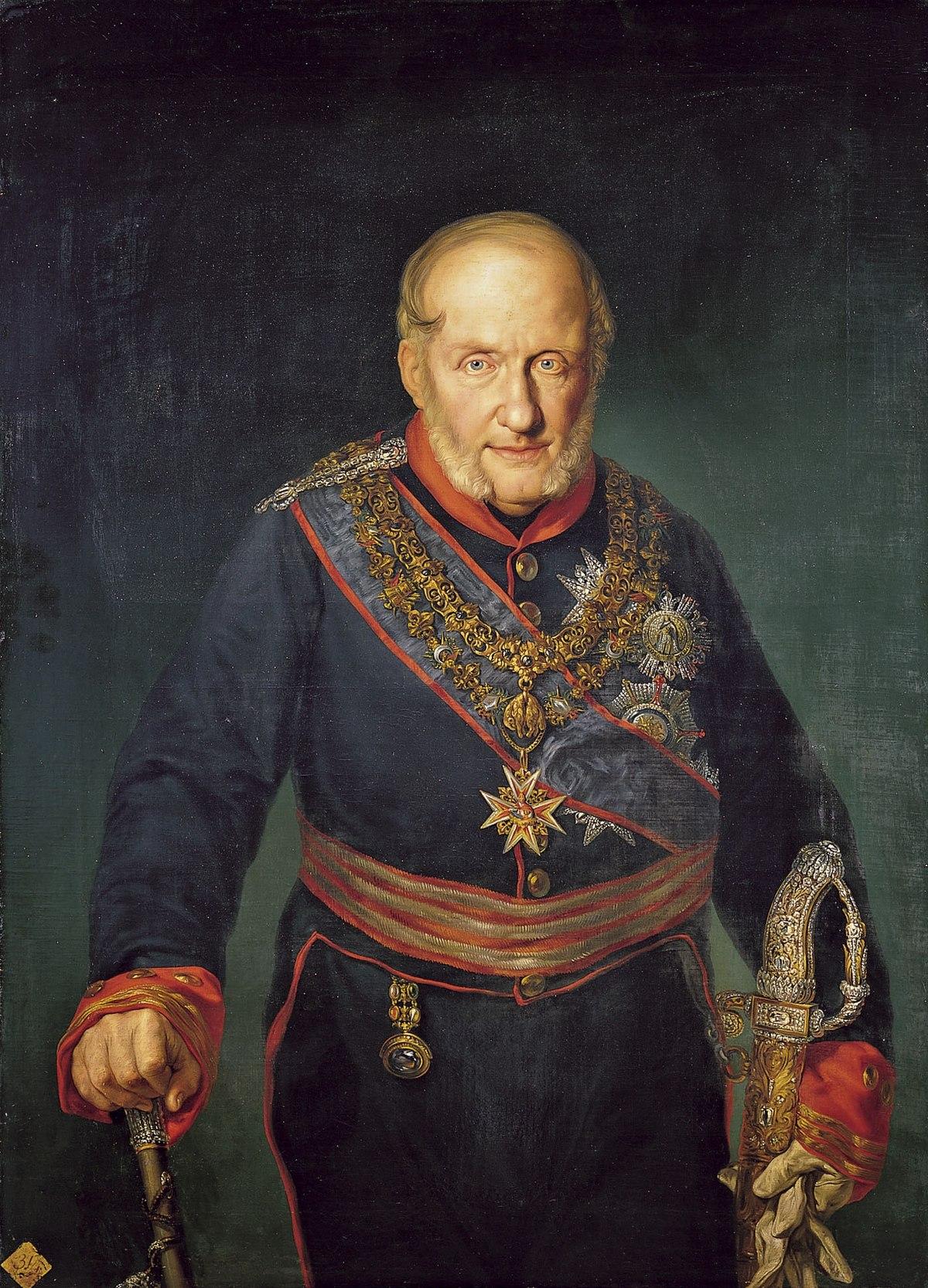 Francisco I de las Dos Sicilias (por Vicente López Portaña. 1829. Real Academia de Bellas Artes de San Fernando).jpg