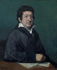 Portrait de Leandro Fernández de Moratín (1824)