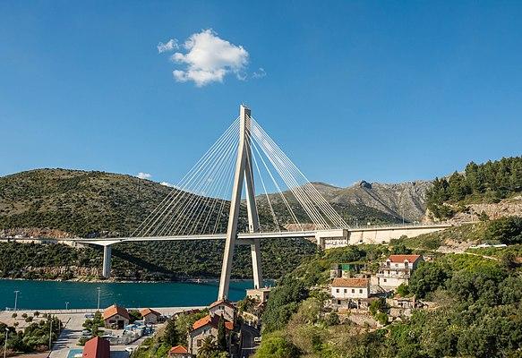 Franjo Tuđman Bridge (Dubrovnik)