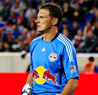 Frank Rost - Rost playing for New York Red Bulls in 2011.