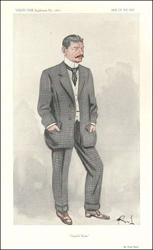 Frank Harris - Harris caricatured by OWL in Vanity Fair, 1913