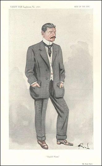 Frank Harris - Harris caricatured by OWL in Vanity Fair, 1913