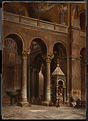 Frank Hill Smith - Chapel of the Crucifix, Saint Mark's, Venice - 18.402 - Museum of Fine Arts.jpg