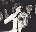 Frankie Gavin with De Dannan, Trowbridge Folk Festival 1985.jpg