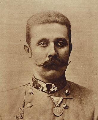 Assassination of Archduke Franz Ferdinand - Archduke Franz Ferdinand of Austria