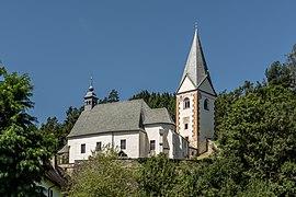 Frauenstein Kraig Kirchweg 6 Pfarrkirche hl Johannes d T 14082017 0358.jpg