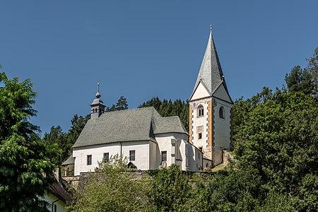 Parish and collegiate church Saint John the Baptist in Kraig, Frauenstein, Carinthia, Austria