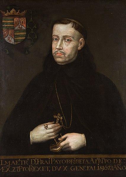 Retrato de Payo Enríquez de Ribera.