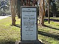 Fred Mahan Drive Marker, Monticello.JPG
