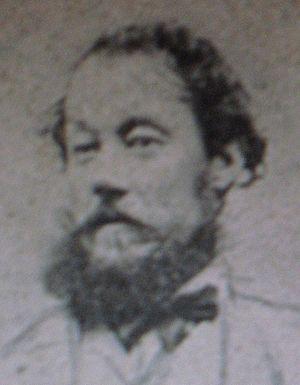 Frederick Henry Litchfield - Portrait photo of Frederick Henry Litchfield (1832-1867).