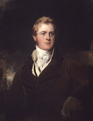 F. J. Robinson, 1st Viscount Goderich - Lord Ripon by Sir Thomas Lawrence.