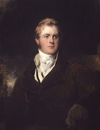 F. J. Robinson, 1st Viscount Goderich - Lord Ripon by Sir Thomas Lawrence