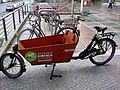 Freies Lastrenrad vor der Bibliothek am anton-Saefkow-Platz, 2019-07-10, ama fec.jpg