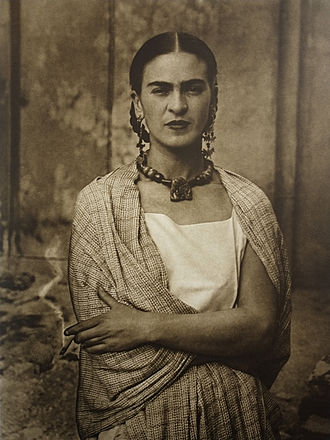 Frida Kahlo - Frida photographed in 1932 by her father, Guillermo