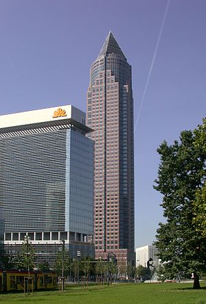 Messeturm - Image: Friedrich Ebert Anlage 2, Frankfurt