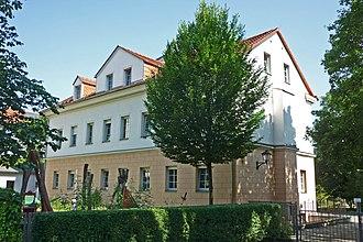 """Paula Modersohn-Becker - Dresden-Friedrichstadt: After Paula's birth, the Becker family moved into a house in """"Friedrichstraße 29"""" (today """"Friedrichstraße 46"""")"""