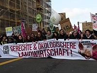 """Front banner of the """"Wir Haben Es Satt!"""" Demonstration 2019 18.jpg"""