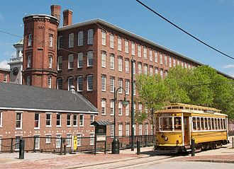 Paul Tsongas - Boott Cotton Mill, Museum and Trolley - Lowell Nat'l. Historical Park
