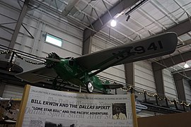 Frontiers of Flight Museum December 2015 021 (Dallas Spirit model).jpg