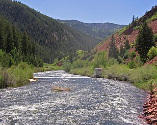 Fryingpan River river in the United States of America