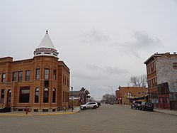 Main and Deadwood streets in Fort Pierre, South Dakota
