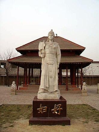 Fu Hao - Statue of Fu Hao at Yinxu