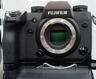 Fujifilm X series series of digital camera models