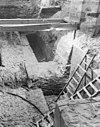 fundering van steunbeer ten zuid van pijler 48 vanuit het oosten - amsterdam - 20013061 - rce