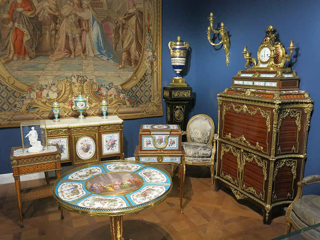 File Furniture Of 18th Century Louvre Jpg Wikimedia Commons