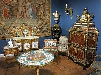 Louis XVI furniture - Image: Furniture of 18th century, Louvre